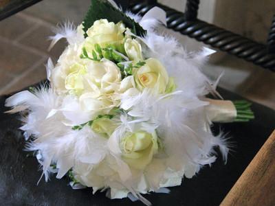 bouquet-piume