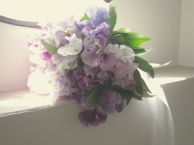 bouquet-sweetpeas